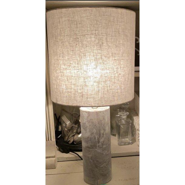 Lampe i soft stone