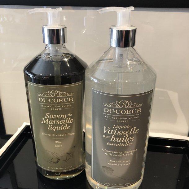 Håndsæbe og opvaskemiddel du Coeur
