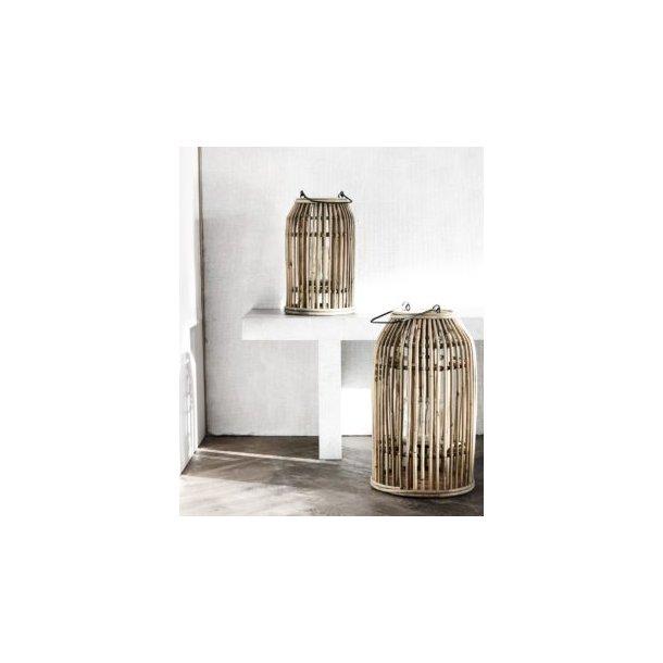 Lanterner i bambus stor